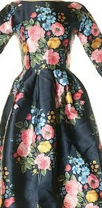 Chicwish floral cocktail dress sz Small